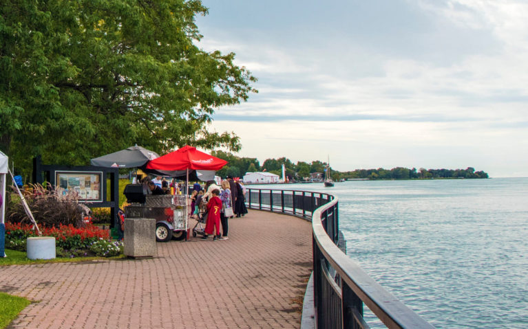 Walking Along the Riverfront is Just One of the Great Things to Do in Windsor Ontario and Essex County :: I've Been Bit! Travel Blog