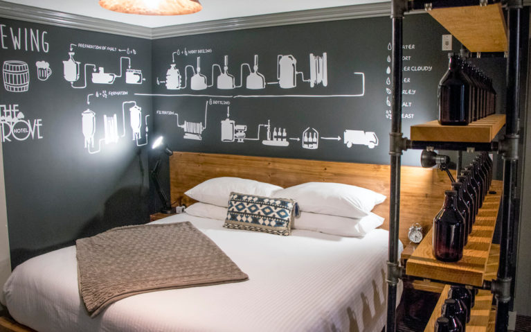 Brewer's Suite at the Grove Hotel in Kingsville Ontario :: I've Been Bit! Travel Blog