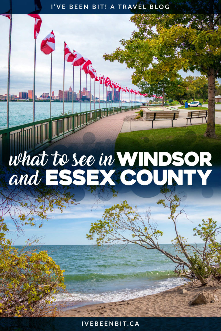 In the southernmost part of Ontario lies an area that's truly a hidden gem. You'll absolutely fall in love with all of these great things to do in Windsor and Essex County! Includes Point Pelee National Park, Peche Island and more. | #Travel #Canada #Ontario #Windsor #EssexCounty | IveBeenBit.ca