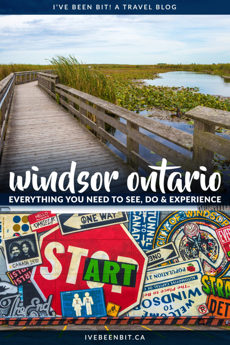 Looking for really fun things to do in Windsor Ontario and Essex County? Check out this epic weekend guide to ensure you have a memorable stay in Windsor and Essex County Ontario. Including craft beer, amazing food, wine and more in Kingsville, Amherstburg and other great destinations! | #Travel #Canada #Ontario #Windsor #EssexCounty | IveBeenBit.ca