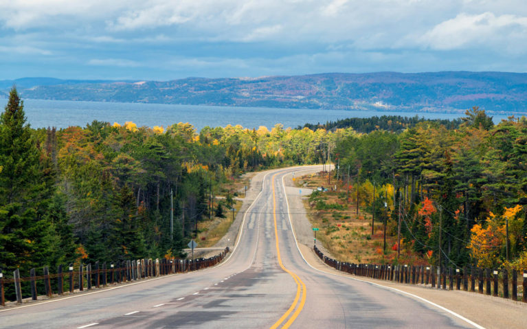 Views from the Lake Superior Coastal Drive, One of the Top Things to Do in Fall in Ontario :: I've Been Bit! Travel Blog