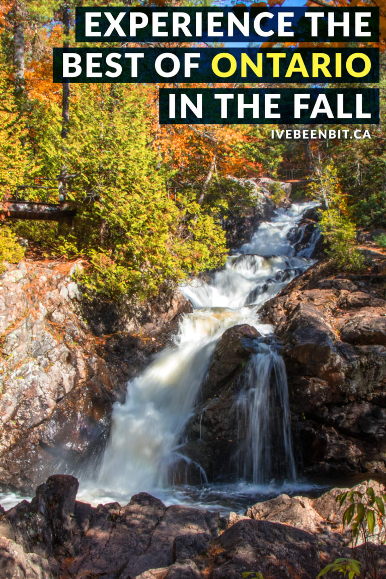 Experiences to have in autumn in Ontario. Includes hiking, wine tasting, visiting a cranberry marsh and more! Autumn will come and go before you know it. Want to make the most of the season? Don't miss these incredible things to do in fall in Ontario! | #Travel #Canada #Ontario #Fall #Autumn | IveBeenBit.ca