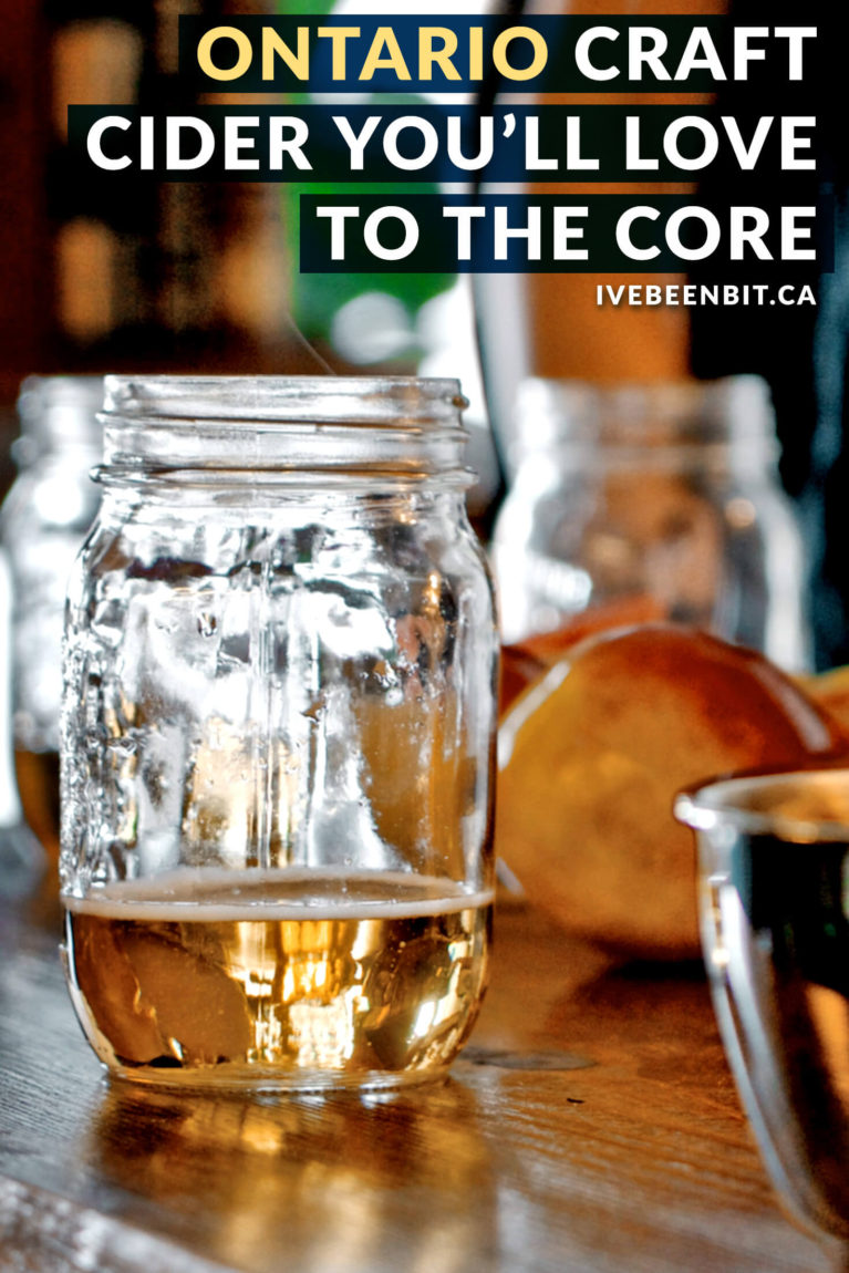 Looking for an amazing way to support local? While craft beer in Ontario is taking off, I'm talking about Ontario craft cider! These Ontario cider establishments are incredible and you don't want to miss them! | #Travel #Canada #Ontario #Cider #CraftCider | IveBeenBit.ca