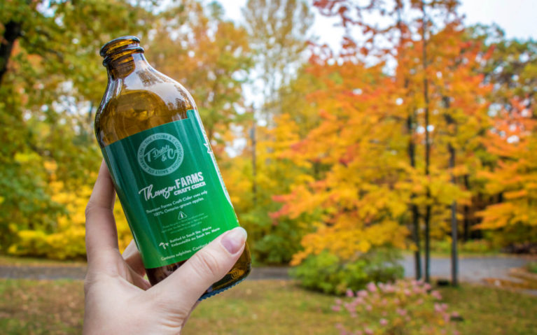 Thomson Farm Cider in Sault Ste Marie, Ontario Craft Cider :: I've Been Bit! Travel Blog