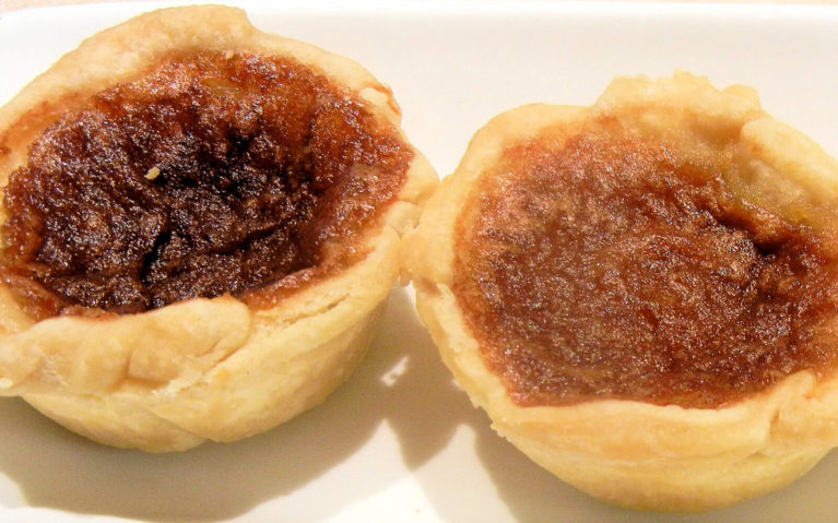 Stock Photo of Butter Tarts on a Plate :: I've Been Bit! Travel Blog