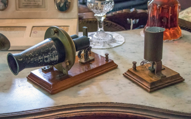 Artifacts Related to Bell's Invention of the Telephone at the Bell Homestead National Historic Site :: I've Been Bit! Travel Blog