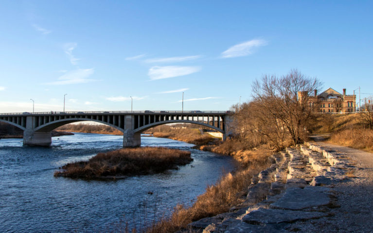 Views from the Hiking Trail Along the Grand River in the Heart of Town, One of the Free Things to Do in Brantford :: I've Been Bit! Travel Blog