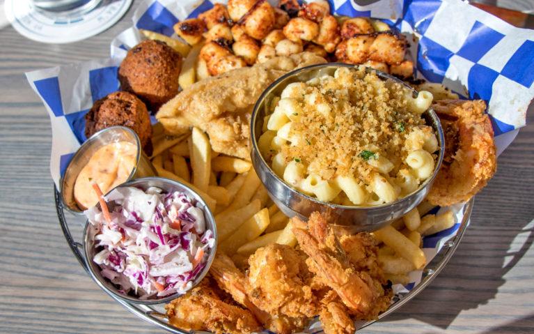 Captain's Seafood Platter at BLU Point Seafood :: I've Been Bit! Travel Blog