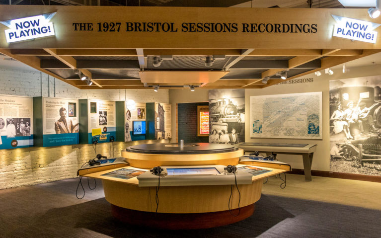Inside One of the Birthplace of Country Music Museum Exhibits :: I've Been Bit! Travel Blog