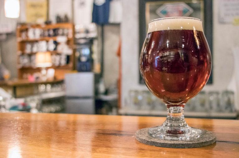 Glass of Beer at the Friendly Fermenter :: I've Been Bit! Travel Blog