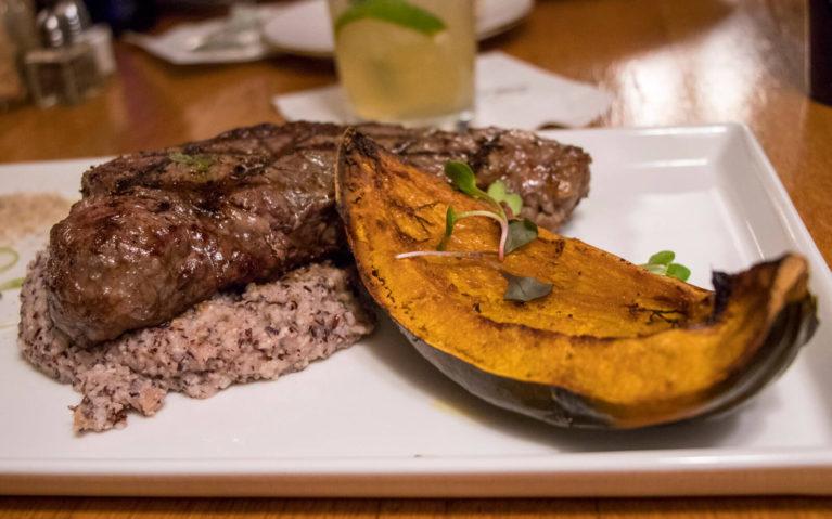 Steak, Grits and Acorn Squash at Haywood's Restaurant :: I've Been Bit! Travel Blog
