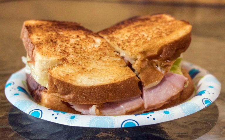 Sandwich at Mattie's in Burke's Garden :: I've Been Bit! Travel Blog