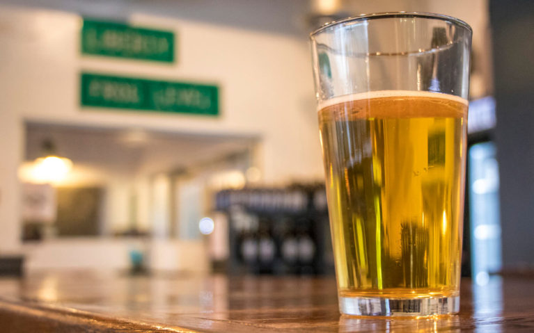Pint of Beer at Painted Peak Brewing Company in Tazewell :: I've Been Bit! Travel Blog