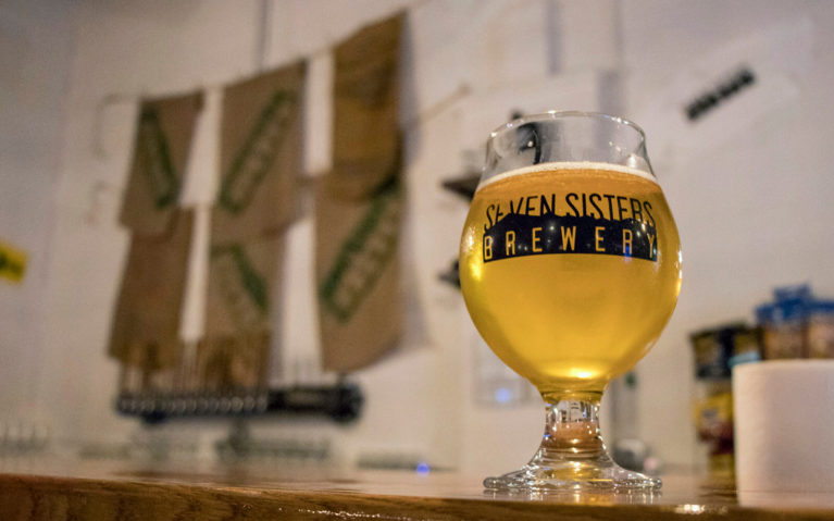 Beer at Seven Sisters Brewery in Wytheville :: I've Been Bit! Travel Blog
