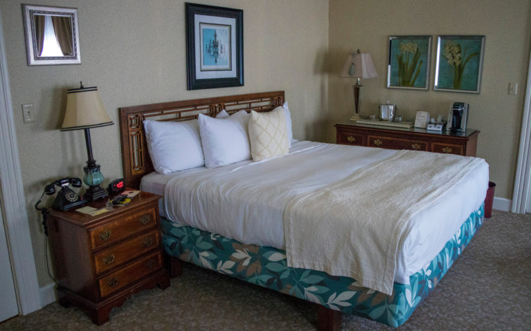 View of My Room at The Martha Washington in Abingdon :: I've Been Bit! Travel Blog