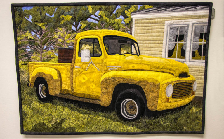 One of the Pieces at the Virginia Quilt Museum :: I've Been Bit! Travel Blog