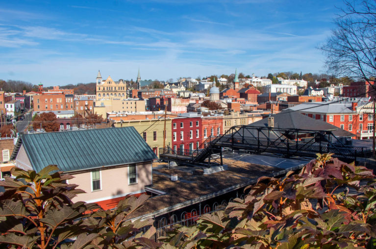 View of Staunton from Woodrow Park :: I've Been Bit! Travel Blog