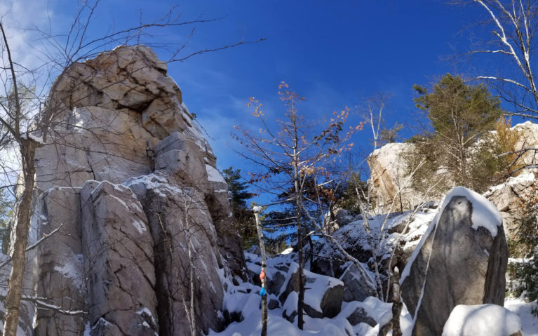 Panorama from the Base of The Crack in Killarney :: I've Been Bit! Travel Blog
