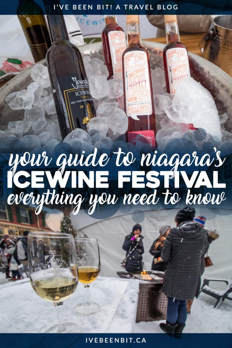 Niagara Icewine Festival and Niagara Region Icewine Guide. Things to Do in Niagara-on-the-Lake in Winter. Guide to Wineries in Niagara. Winter Travel in Ontario. | #Travel #Canada #Ontario #Niagara #Wine #NiagaraOnTheLake #NOTL #NiagaraWine #VQA | IveBeenBit.ca