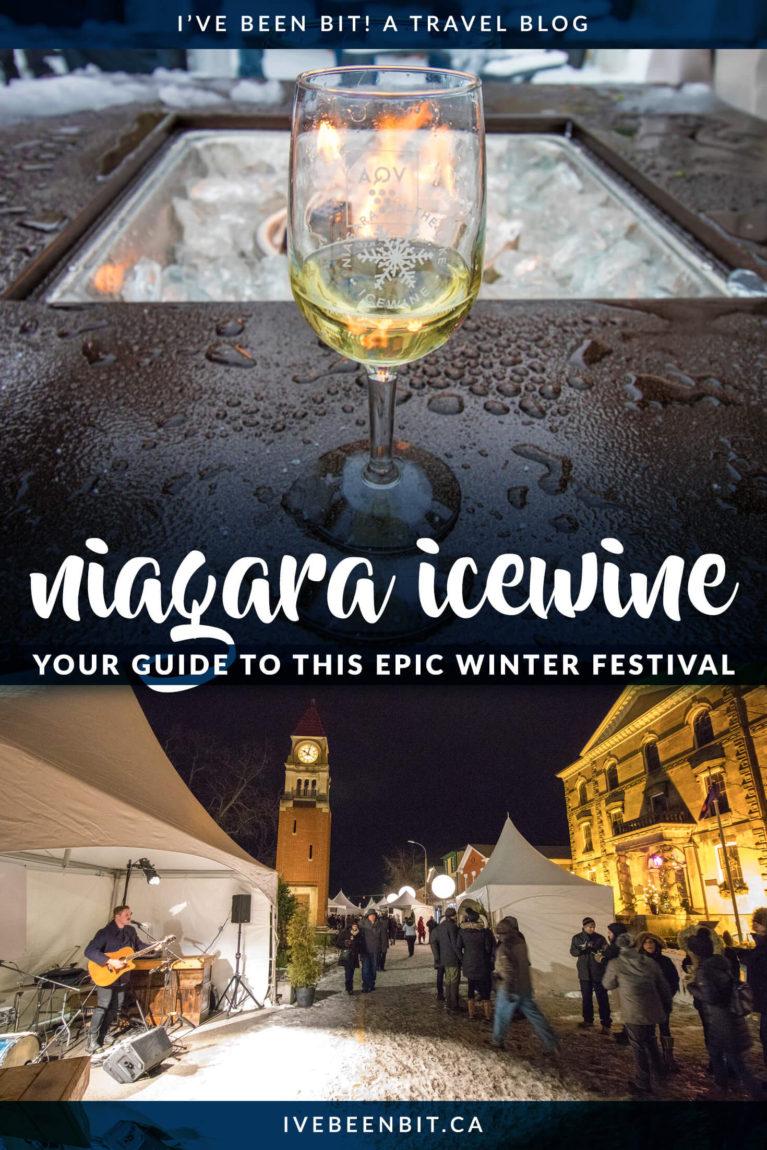 Do you love Niagara wine? How about Niagara icewine? Here's your complete guide to the Niagara Icewine Festival including Discovery Passes, wine tastings, food pairings, Canada's ORIGINAL icewine festival and more! | #Travel #Canada #Ontario #Niagara #Wine #NiagaraOnTheLake #NOTL #NiagaraWine #VQA | IveBeenBit.ca