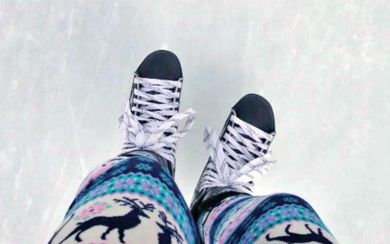 Close Up of Skates :: I've Been Bit! Travel Blog
