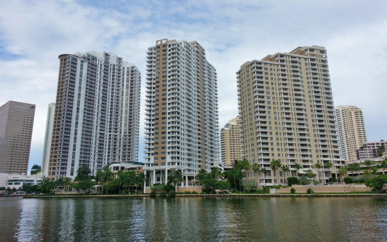 View of the Buildings in Brickell Miami :: I've Been Bit! Travel Blog