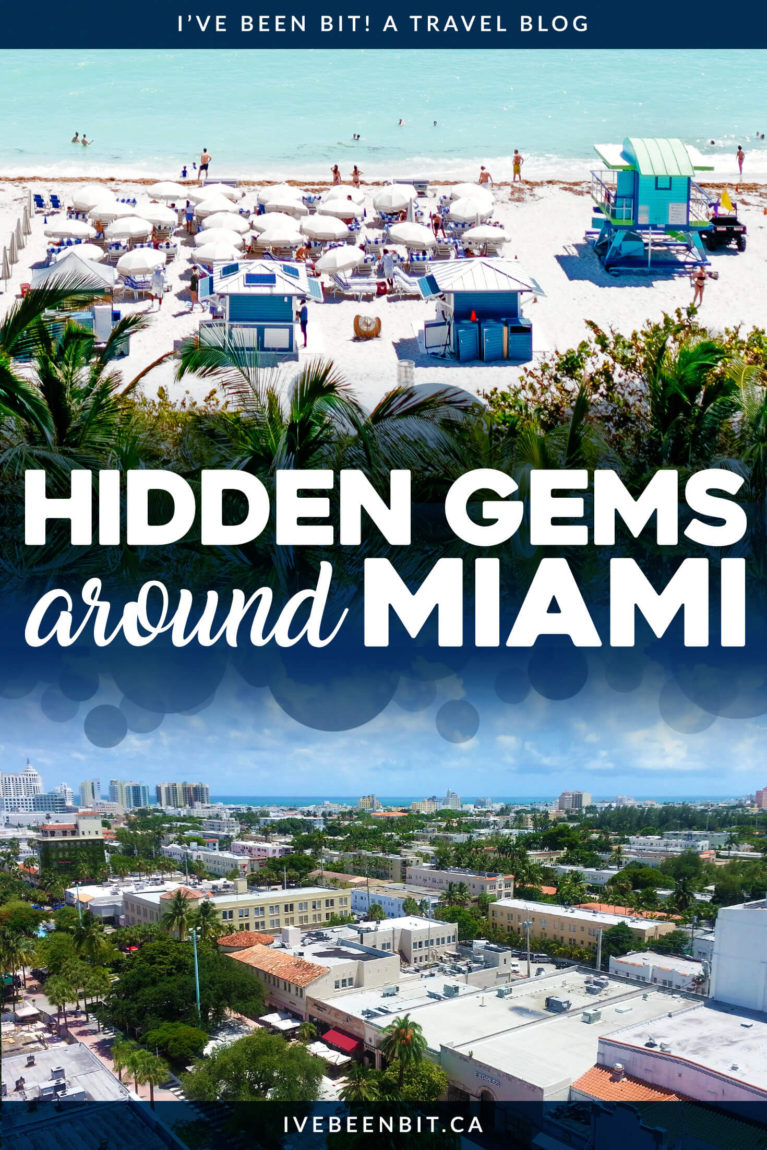 There are so many things to do in Miami it's hard to know where to start. Check out these amazing hidden gems in Miami you don't want to miss! Things to do in Miami Florida. Hidden gems in Miami Beach. | #Travel #USA #UnitedStates #Florida #Miami #MiamiBeach | IveBeenBit.ca