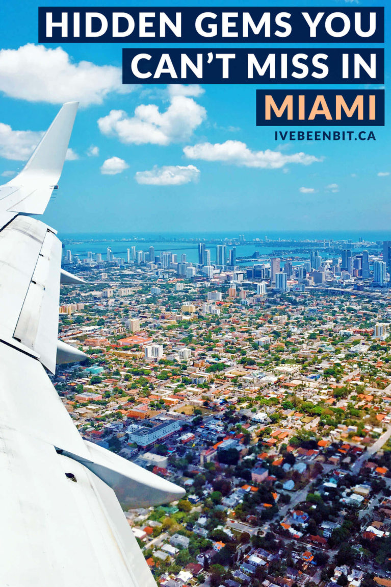 Things to do in Miami Florida. Hidden gems in Miami Beach. There are so many things to do in Miami it's hard to know where to start. Check out these amazing hidden gems in Miami you don't want to miss! | #Travel #USA #UnitedStates #Florida #Miami #MiamiBeach | IveBeenBit.ca
