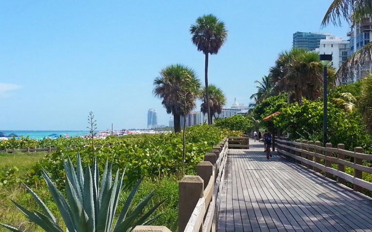 Miami Beach Boardwalk on a Sunny Day :: I've Been Bit! Travel Blog