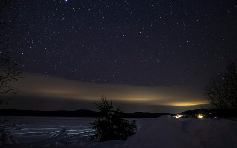 Stars over Windy Lake in Sudbury Ontario :: I've Been Bit! Travel Blog