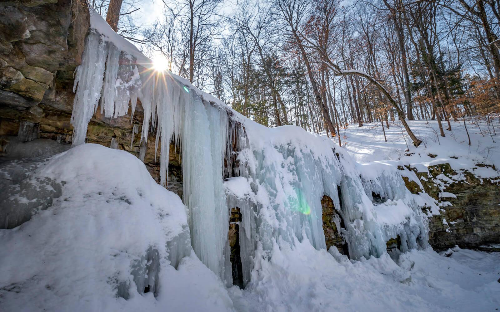Terrace Creek Falls in Short Hills Provincial Park :: I've Been Bit! Travel Blog