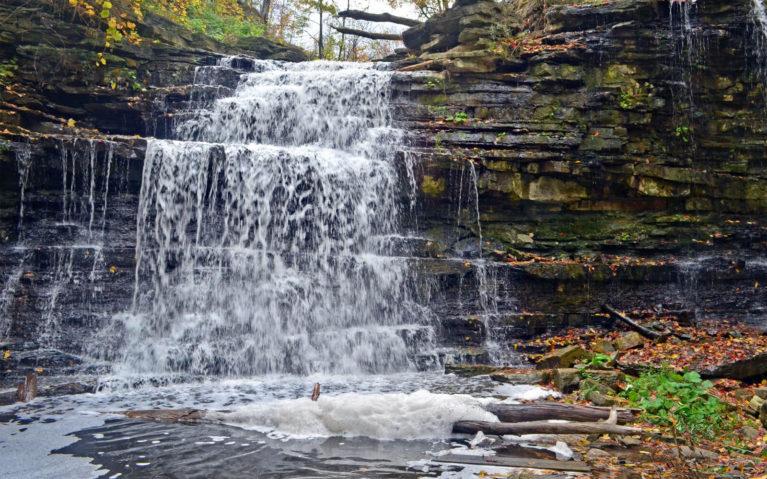 Upper Beamer Falls in Early Fall :: I've Been Bit! Travel Blog