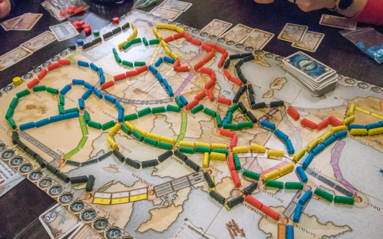 Ticket to Ride Travel-Themed Board Game :: I've Been Bit! Travel Blog