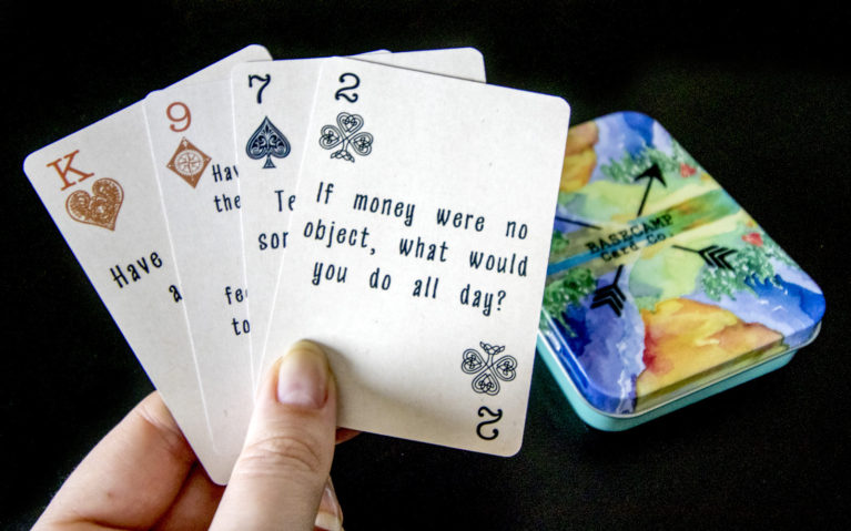 Hand of Cards Fanned Out :: I've Been Bit! Travel Blog