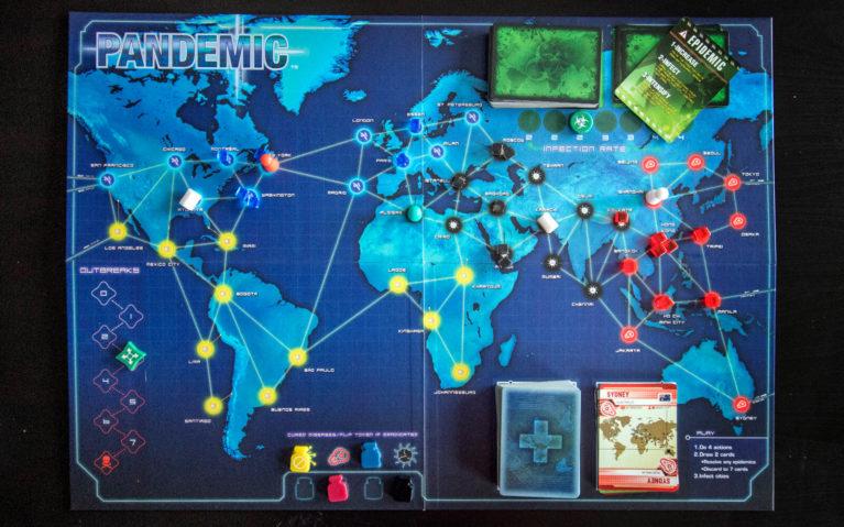 Pandemic Travel Board Game :: I've Been Bit! Travel Blog