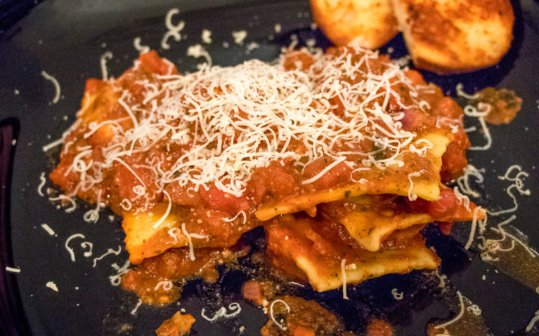 Ravioli at 271 West - One of the Top Downtown Kitchener Restaurants