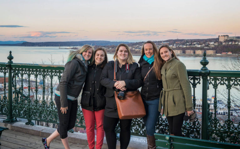 Hanging Out with Some of the Best Travel Friends Around at the Women in Travel Summit in Quebec City :: I've Been Bit! Travel Blog