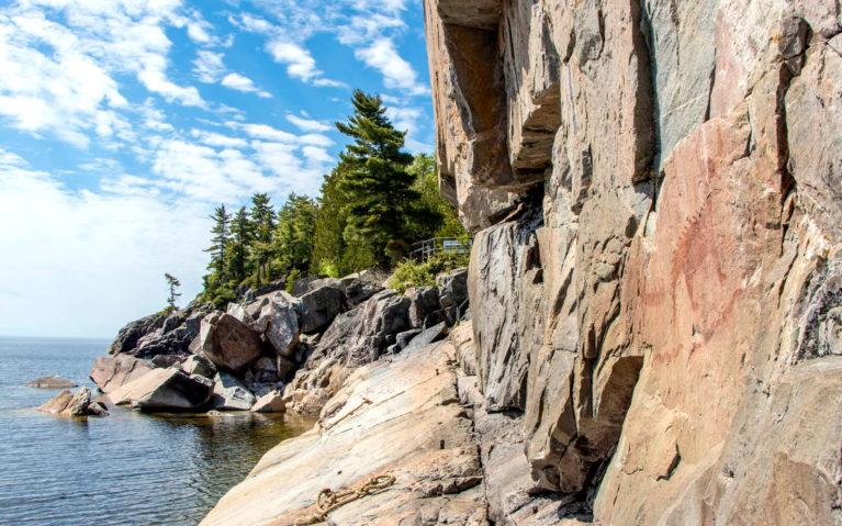 View of Lake Superior Provincial Park :: I've Been Bit! Travel Blog