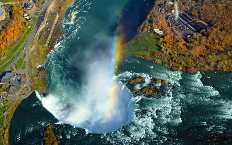 View of Niagara Falls from Above, One of the Top Ontario Road Trips :: I've Been Bit! Travel Blog