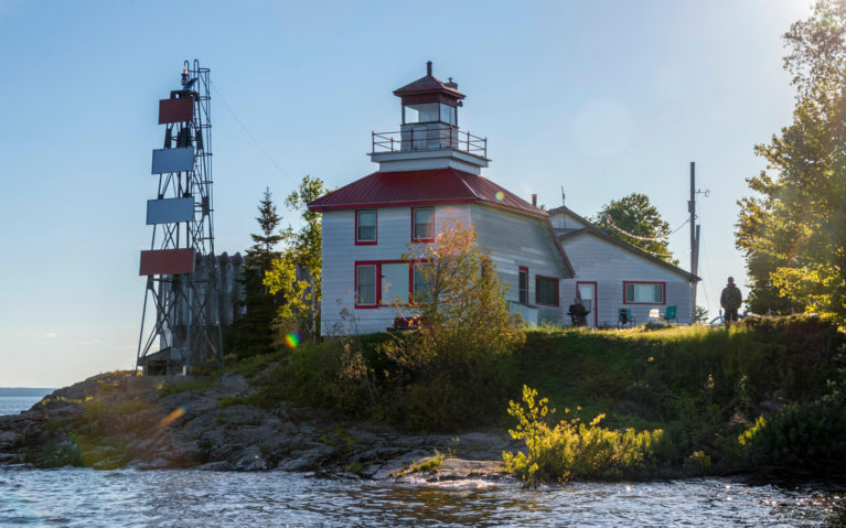 One of the Lighthouses on Northern Ontario :: I've Been Bit! Travel Blog