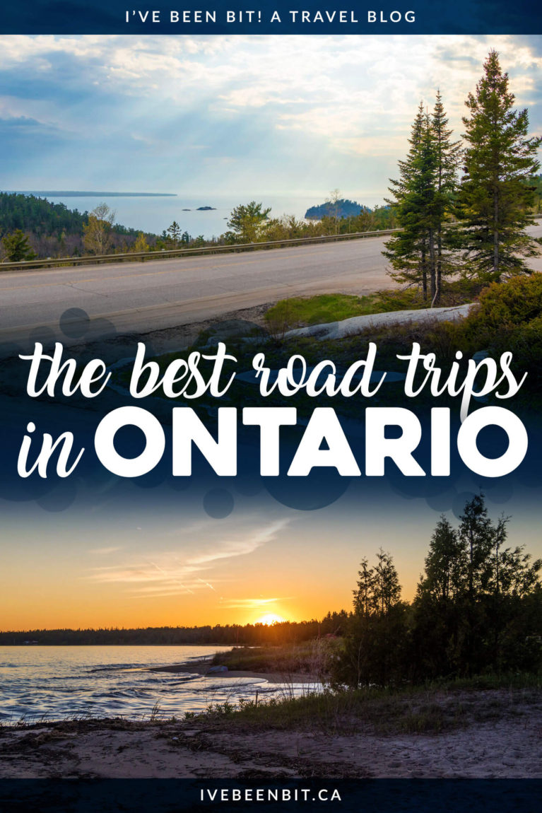 There are so many amazing places to go on a road trip in Ontario. Whether you're looking for day trips from Toronto, weekend adventures or longer excursions, these are the best Ontario road trips you have to experience! | #Travel #Canada #Ontario #RoadTrip #Toronto | IveBeenBit.ca