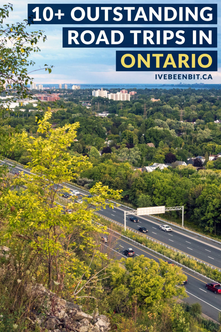 Whether you're looking for day trips from Toronto, weekend adventures or longer excursions, these are the best Ontario road trips you have to experience! There are so many amazing places to go on a road trip in Ontario - just click the link for some serious Ontario Canada travel inspiration! | #Travel #Canada #Ontario #RoadTrip #Toronto | IveBeenBit.ca