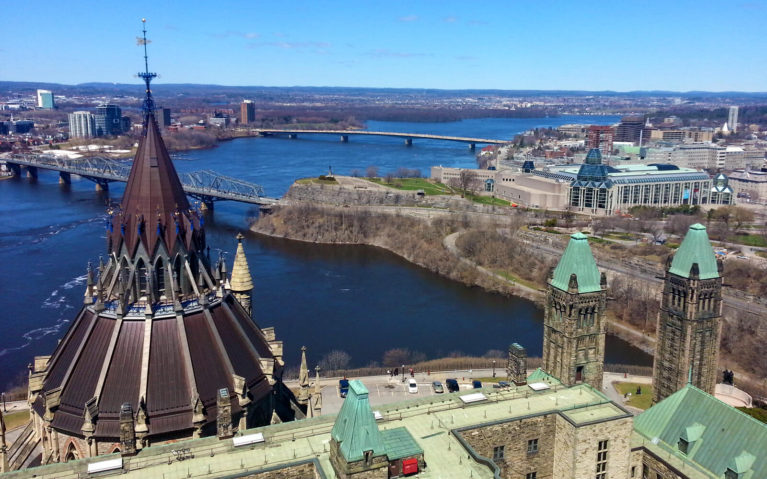 Views of Ottawa from the Federal Parliament Buildings :: I've Been Bit! Travel Blog