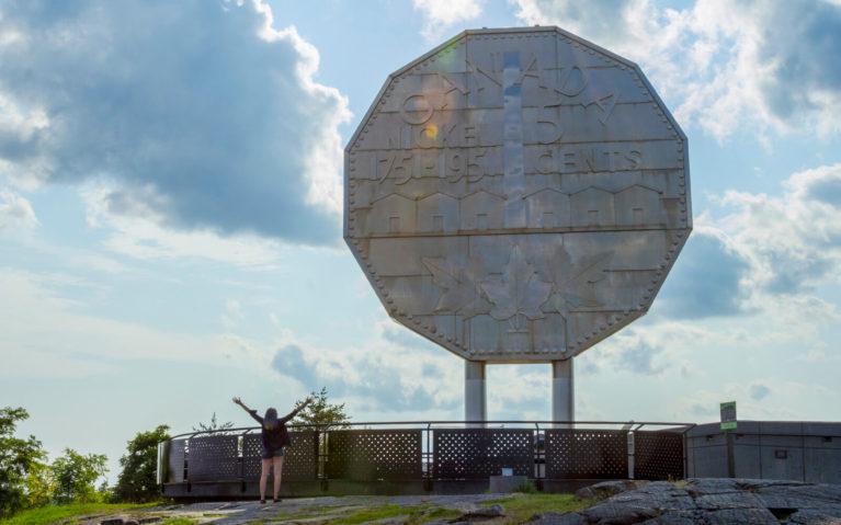 Sudbury's Big Nickel - A Perfect Ontario Road Trip Destination :: I've Been Bit! Travel Blog