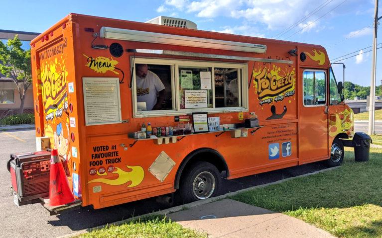 Orange Fo Cheezy Food Truck in Kitchener :: I've Been Bit! Travel Blog