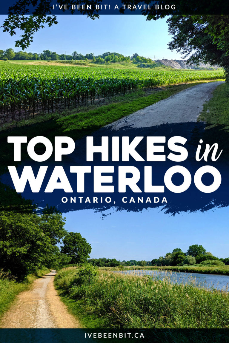 Looking for some get outside in Waterloo Ontario? You have to check out these great Waterloo hiking trails! They're great for hikers of all ages and skill levels. | Hiking in Ontario Canada | Waterloo Region hiking trails | Hiking in Waterloo Region | Hiking Trails near Toronto | Hiking Trails in Southern Ontario | Southern Ontario Hiking Trails | IveBeenBit.ca