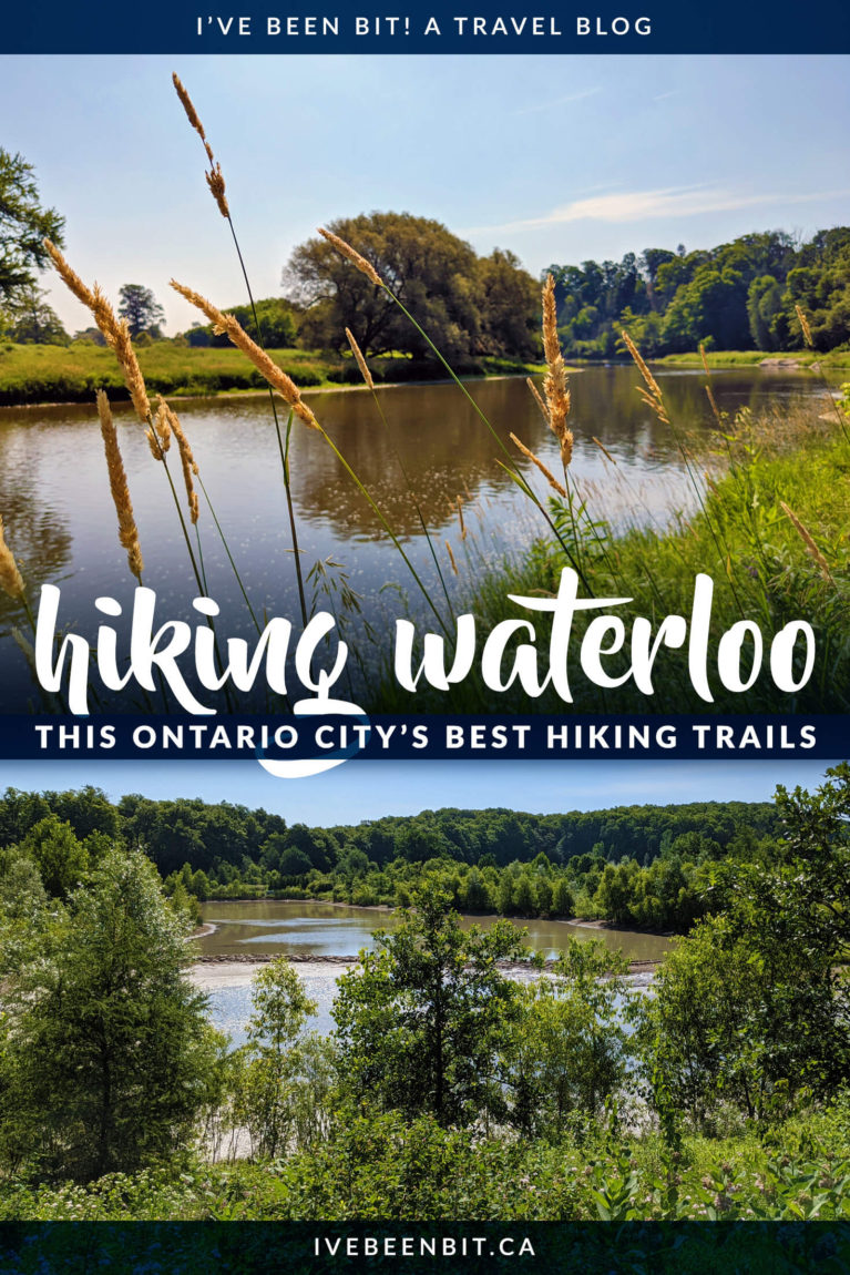 Looking for some get outside in Waterloo Ontario? You have to check out these great Waterloo hiking trails! These Waterloo hikes great for hikers of all ages and skill levels. | Hiking in Ontario Canada | Waterloo Region hiking trails | Hiking in Waterloo Region | Hiking Trails near Toronto | Hiking Trails in Southern Ontario | Southern Ontario Hiking Trails | IveBeenBit.ca