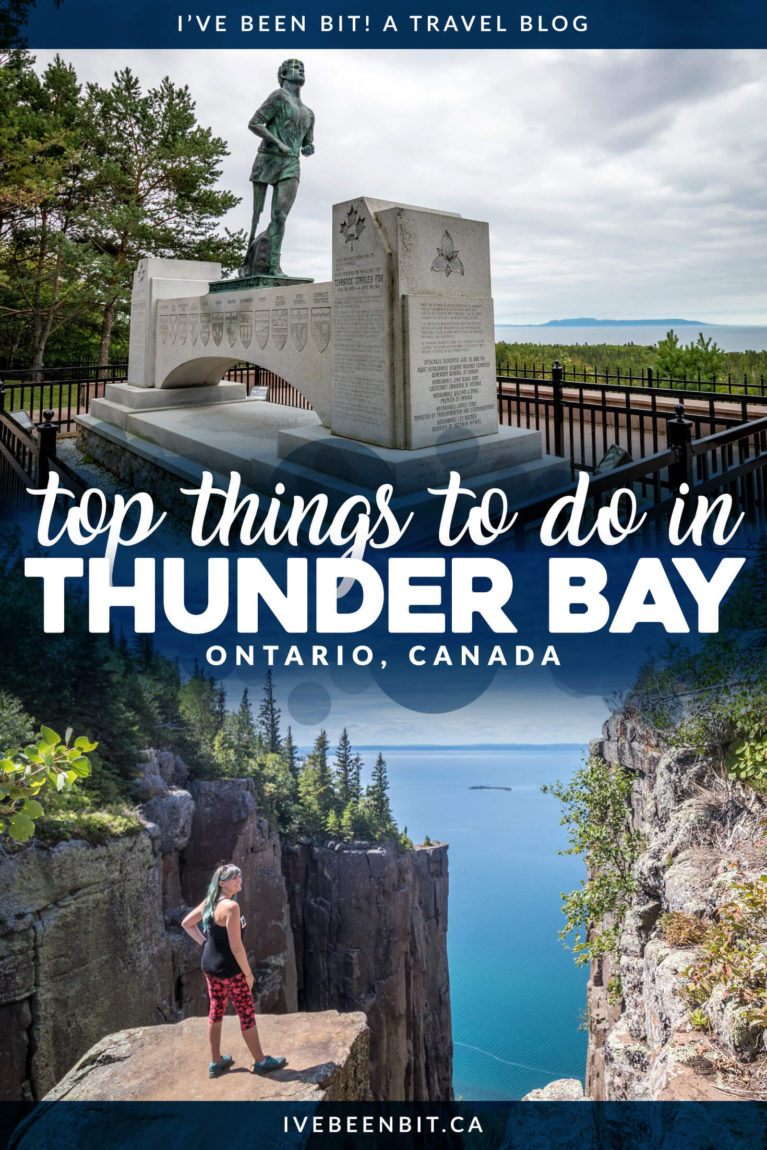 It may be a long drive from Southern Ontario but Thunder Bay is worth the trek. This guide to Thunder Bay has everything you need to plan your trip. With things to do in Thunder Bay, where to eat in Thunder Bay & what Thunder Bay hotels to stay at, you're guaranteed to have a memorable trip. | Thunder Bay Waterfalls | Thunder Bay Itinerary | Best 20+ Attractions in Thunder Bay | Thunder Bay Hikes | Where to Go in Ontario | Ontario Road Trips | IveBeenBit.ca