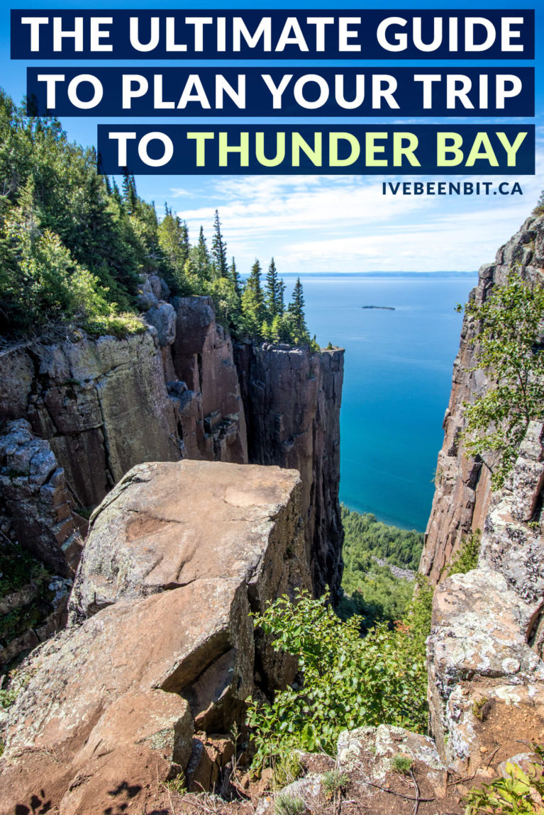 It may be a long drive from Southern Ontario but Thunder Bay is worth the trek. This guide to Thunder Bay has everything you need to plan your trip. With things to do in Thunder Bay, where to eat in Thunder Bay & what Thunder Bay hotels to stay at, you're guaranteed to have a memorable trip. | Best 20+ Attractions in Thunder Bay | Thunder Bay Waterfalls | Thunder Bay Itinerary | Thunder Bay Hikes | Where to Go in Ontario Canada | Ontario Road Trips | IveBeenBit.ca