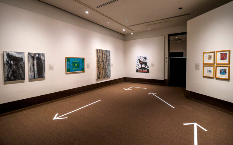 Indigenous Works Hung on the White Walls of the Thunder Bay Art Gallery :: I've Been Bit! Travel Blog